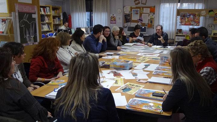 Puerta en el tiempo: grupo de lectura de Quijorna